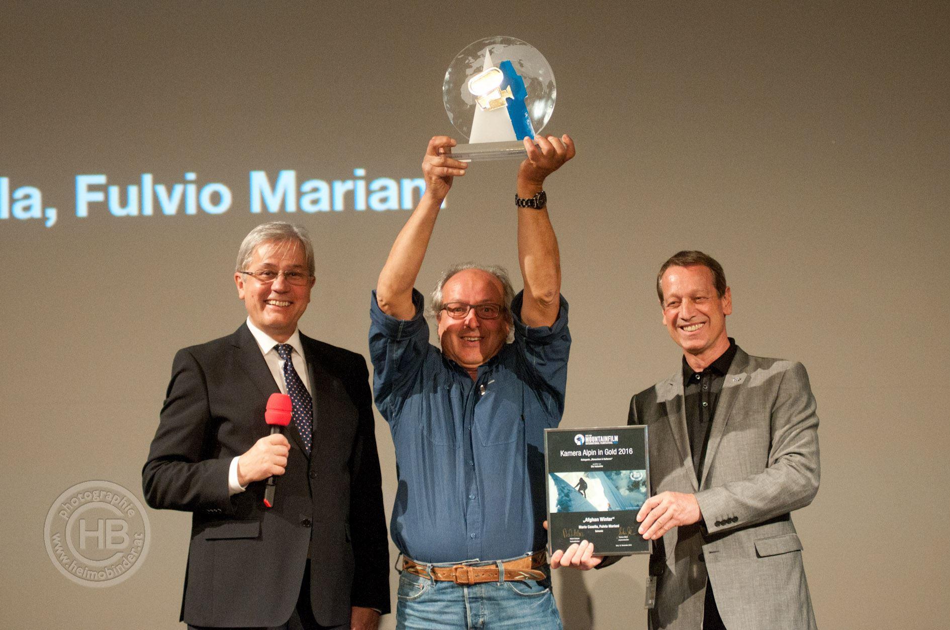 Kamera in Gold - Fulvio Mariani